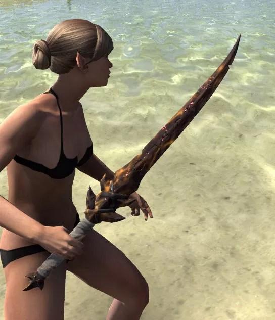 Ancestral Reach Sword 2