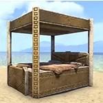 Dwarven Bed, Reach Furs Canopy