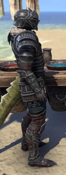 Ebonsteel Knight - Argonian Male Right