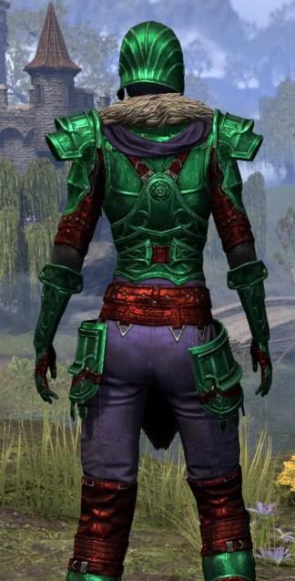 Ebonsteel Knight - Dyed Close Rear