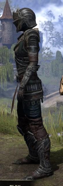Ebonsteel Knight - Female Side