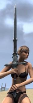 Ebonsteel Knight Greatsword 2