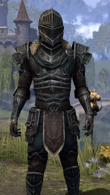 Ebonsteel Knight - Male Close Front
