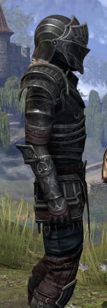 Ebonsteel Knight - Male Close Side