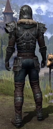Ebonsteel Knight - Male Rear