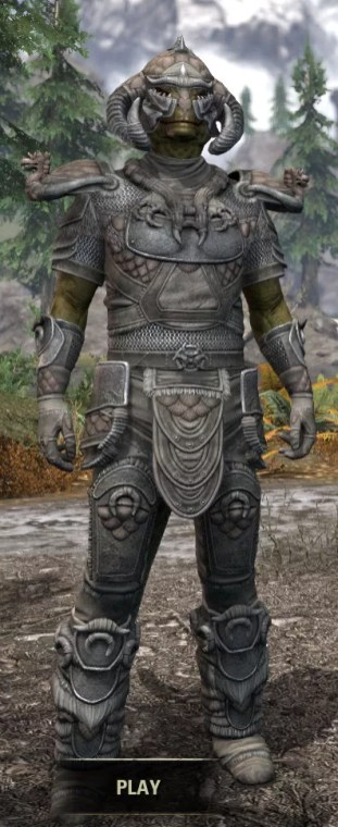 Sea Giant Iron - Argonian Male Front