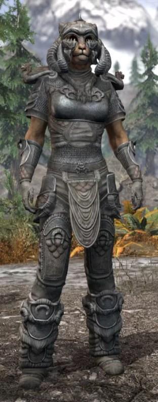 Sea Giant Iron - Khajiit Female Front