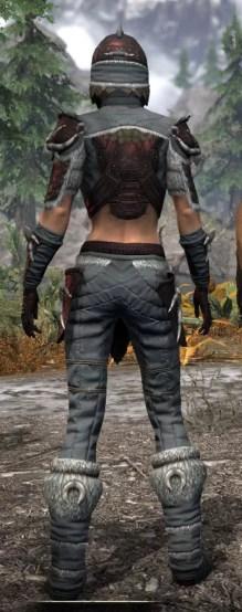 Sea Giant Rubedo Leather - Female Rear