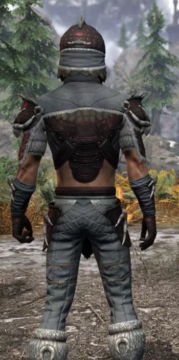 Sea Giant Rubedo Leather - Male Close Rear