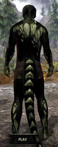 Void Pathosis - Argonian Male Rear
