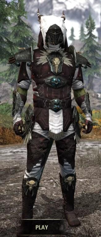 Wayward Guardian Medium - Argonian Male Front