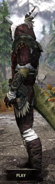 Wayward Guardian Medium - Argonian Male Side
