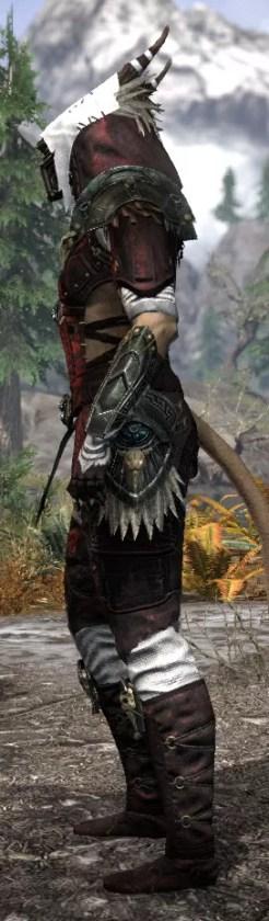 Wayward Guardian Medium - Khajiit Female Side