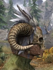 Witchwise Headdress - Argonian Male Right