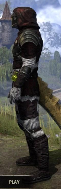 True-Sworn Heavy - Argonian Male Side
