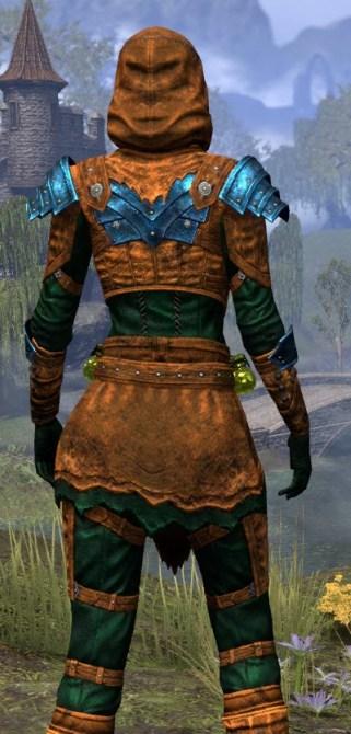 True-Sworn Heavy - Dyed Close Rear