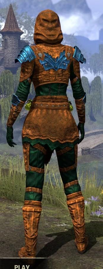 True-Sworn Heavy - Dyed Rear