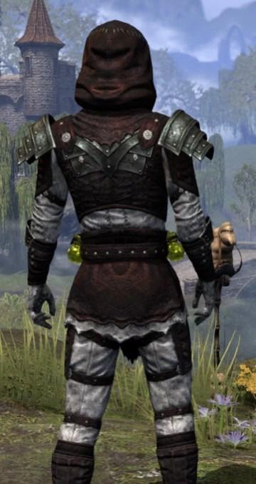True-Sworn Heavy - Male Close Rear