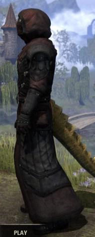 True-Sworn Light - Argonian Male Robe Side