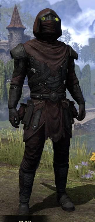 True-Sworn Light - Argonian Male Shirt Front