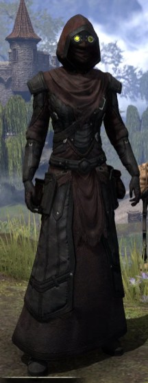 True-Sworn Light - Female Robe Front