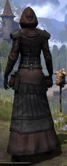 True-Sworn Light - Female Robe Rear