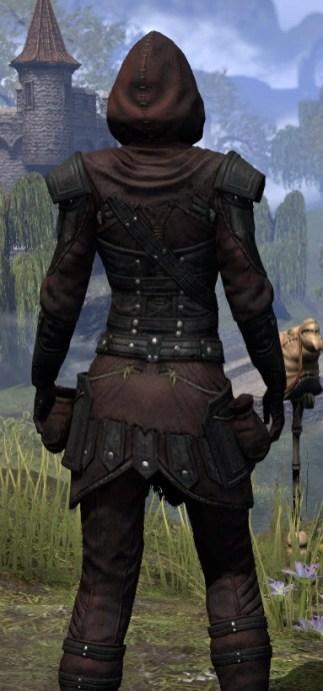 True-Sworn Light - Female Shirt Close Rear