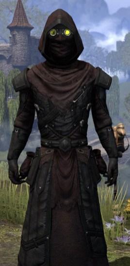 True-Sworn Light - Male Robe Close Front