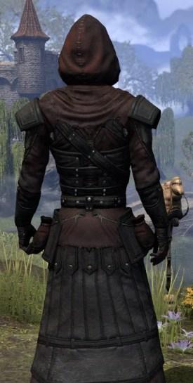 True-Sworn Light - Male Robe Close Rear