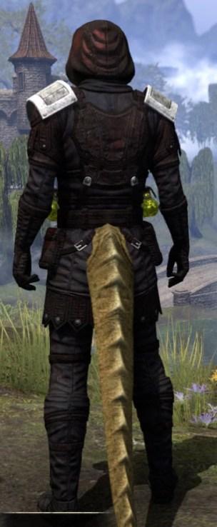 True-Sworn Medium - Argonian Male Rear
