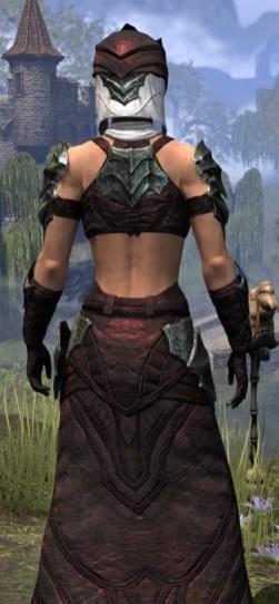 Waking Flame Light - Female Robe Close Rear