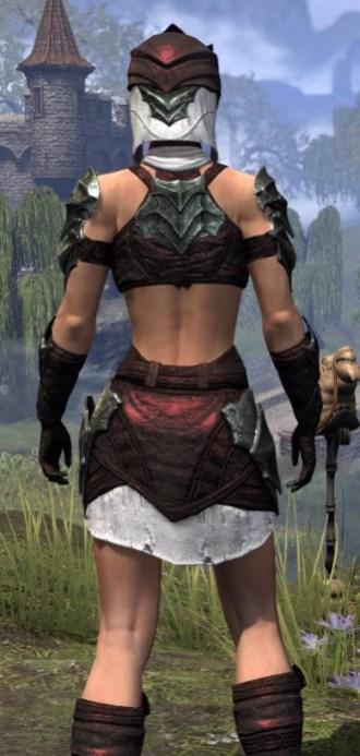 Waking Flame Light - Female Shirt Close Rear