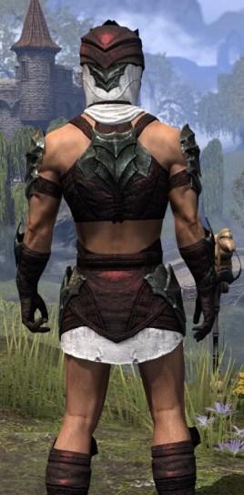 Waking Flame Light - Male Shirt Close Rear