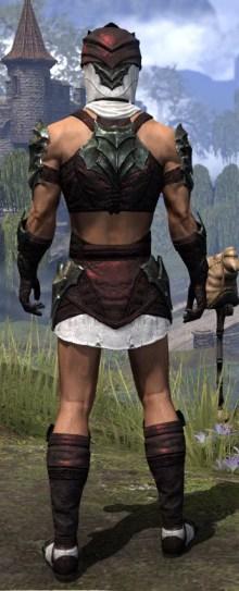 Waking Flame Light - Male Shirt Rear