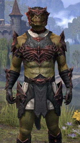 Waking Flame Medium - Argonian Male Close Front