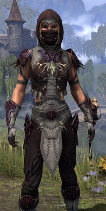 Wayward Guardian Ancestor Silk - Female Shirt Close Front