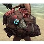 Wayward Guardian Ruby Ash Shield