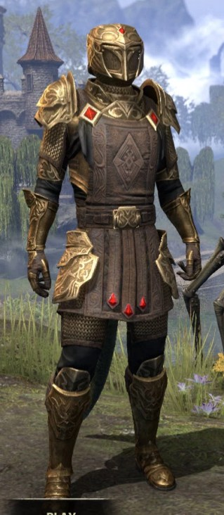 Imperial Champion - Argonian Male Front