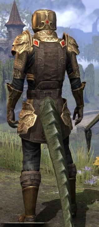 Imperial Champion - Argonian Male Rear
