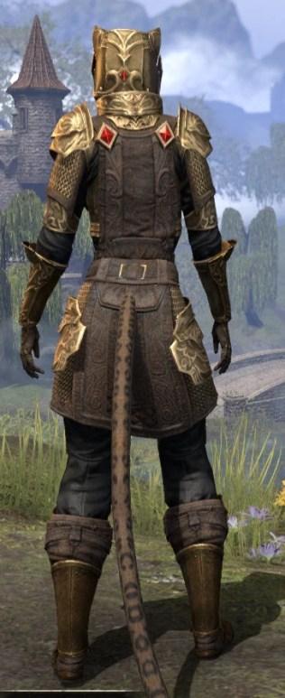 Imperial Champion - Khajiit Female Rear