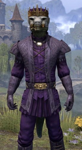 Regal Regalia - Argonian Male Close Front