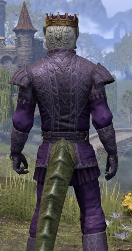 Regal Regalia - Argonian Male Close Rear