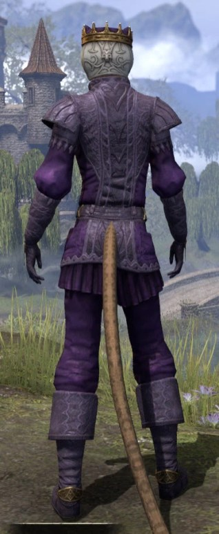 Regal Regalia - Khajiit Female Rear