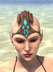 Saliache Aetherial Tiara - Female Front
