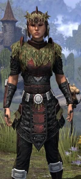 Black Fin Heavy - Female Close Front