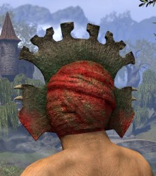 Bog Blight Funerary Mask - Khajiit Female Rear