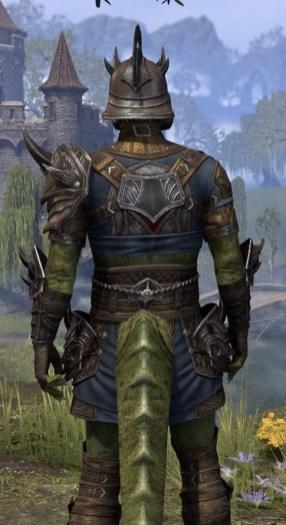 Deadlands Gladiator - Argonian Male Close Rear