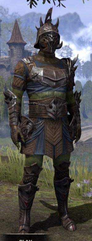 Deadlands Gladiator - Argonian Male Front