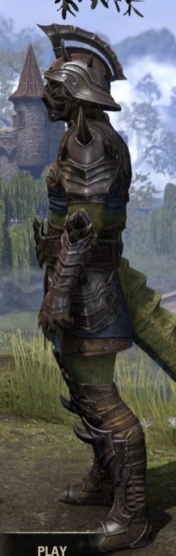Deadlands Gladiator - Argonian Male Side