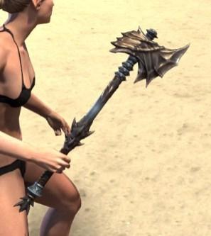 Deadlands Gladiator Axe 2